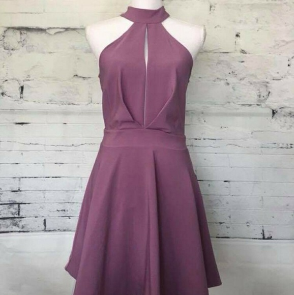 light purple cocktail dress